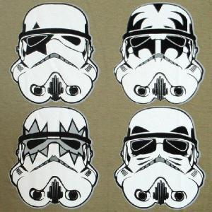 パロディーTシャツ KISSが帝国軍に入隊!? しかもストームトルーパー扱いなの!? 「KISSトルーパー」 人気のSTARWARSパロディー!|neigh