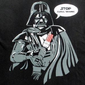 パロディーTシャツ スターウォーズのベイダー卿のライトセイバーもついに節電の時代へ!「ベイダー卿の節電」ライトセイバーがLED化!|neigh