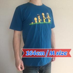 デザインTシャツ レゴの人間で表現したダーウィンの進化論Tシャツ!レゴ好きにはたまらないパロディーT!|neigh|04
