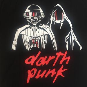 デザインTシャツ daftpunkとSTAR WARSの暗黒コラボTシャツ!スターウォーズ好きにはたまらないパロディーT!|neigh