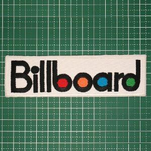 アイロンワッペン 人気の企業ロゴワッペン「Billboard(ビルボード)」ワッペンのヒットチャートも出ちゃうかも!? 定型郵便送料無料|neigh