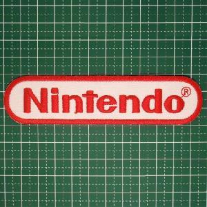 人気の企業ロゴワッペン「Nintendo(任天堂)」ゲーム好きな方にオススメ!アイロンワッペン 定型郵便送料無料|neigh