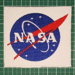 宇宙が大好きな方にぜひ! 付けるだけで、宇宙飛行士気分!?「NASA(ナサ:アメリカ航空宇宙局)」人気のロゴワッペン アイロンパッチ 定型郵便送料無料|neigh