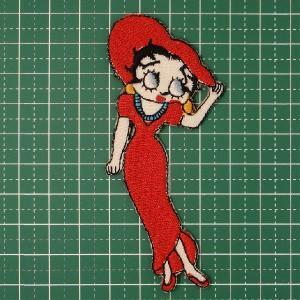 お子様の入学バッグに! あのベティーちゃんのアイロンワッペンはインパクト◎「Betty Boop」 定型郵便送料無料|neigh
