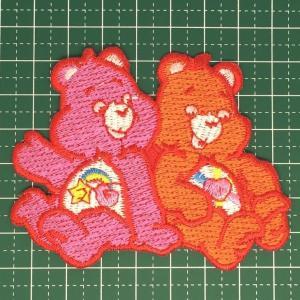 お子様の入学バッグに! 人気のケアベアのアイロンワッペンはホントにキュート!「Care Bear」 定型郵便送料無料|neigh
