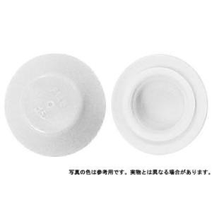 カラ−キャップHEX 白 M6 樹脂  【400本】|nejikuru