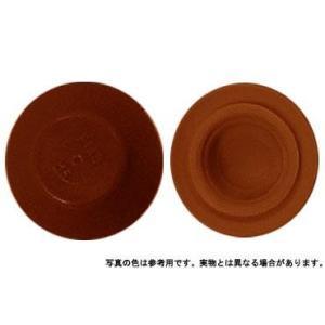 カラ−キャップHEX 茶色 M6 樹脂  【400本】|nejikuru