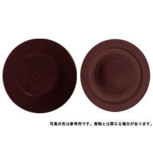カラ−キャップHEX コゲ茶 M6 樹脂  【400本】|nejikuru