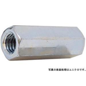 高ナット(ウィット3/8X14X50 鉄 三価ホワイト 【80本】|nejikuru