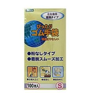 オカモト ピッタリゴム手袋(粉無Lサイズ100イリ 【1個】|nejikuru