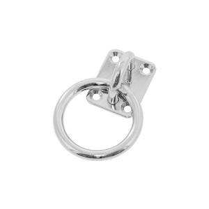 丸カンプレート【1個】マルカンプレート  PR-6 ステンレス(303、304、XM7等)/生地(または標準)|nejinetshop