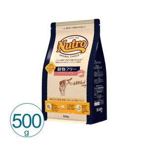 ナチュラルチョイス 穀物フリー アダルト チキン 500g キャットフード 総合栄養食 ニュートロ ...