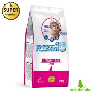 FORZA10 メンテナンス フィッシュ 2kg 正規品 キャットフード 栄養食|nekobatake