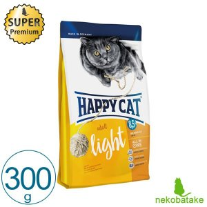 HAPPY CAT ライト 300g / 肥満猫 避妊・去勢猫 総合栄養食|nekobatake