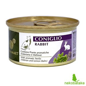 エクイリブリア キャット 缶 ウサギ&ハーブ 85g / EQUILIBRIA 猫用缶詰 一般健康食|nekobatake