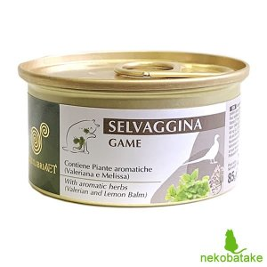 エクイリブリア キャット 缶 ジビエ&ハーブ 85g 正規品 キャットフード 栄養食|nekobatake