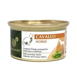 エクイリブリア キャット 缶 馬肉&ハーブ 85g / EQUILIBRIA 猫用缶詰 一般健康食|nekobatake