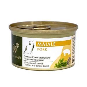 エクイリブリア キャット 缶 ポーク&ハーブ 85g / EQUILIBRIA 猫用缶詰 一般健康食|nekobatake