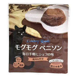 カントリーロード モグモグ ベニソン 70g 正規品 キャットフード 総合栄養食 レトルト|nekobatake