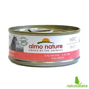 アルモネイチャー LEGEND/HFC サーモン  ゼリータイプ 70g 正規品 キャットフード 一般食|nekobatake