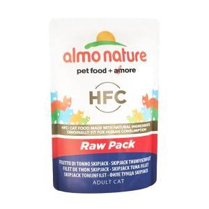 アルモネイチャー CLASSIC ロウパック カツオフィレ 55g 正規品 キャットフード 一般食|nekobatake