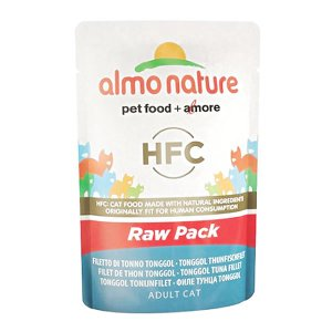 アルモネイチャー CLASSIC ロウパック マグロフィレ 55g キャットフード 一般食|nekobatake