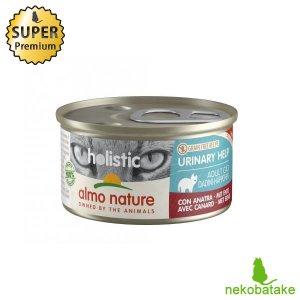 アルモネイチャー ファンクショナル 缶 ユリナリーサポート ダック 85g / 猫用缶詰 総合栄養食 泌尿器ケア|nekobatake