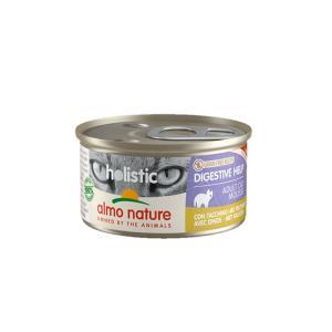 アルモネイチャー ファンクショナル 消化サポート ターキー 缶 85g / 猫用缶詰 総合栄養食|nekobatake