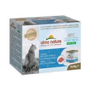 アルモネイチャー HFC ナチュラルライトミール 大西洋まぐろ 50g×4 / 猫用缶詰 一般食|nekobatake