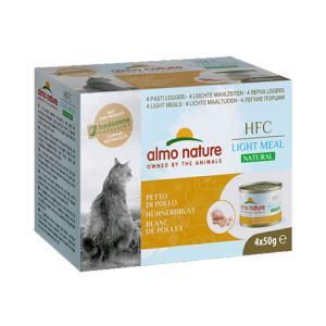 アルモネイチャー HFC ナチュラルライトミール チキン胸肉 50g×4缶 / 猫用缶詰 一般食 nekobatake