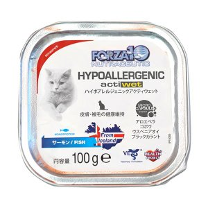 FORZA10 アクティウェット ハイポアレルジェニック 100g 正規品 キャットフード 総合栄養食|nekobatake