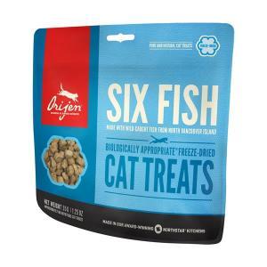 オリジン キャットトリーツ 6フィッシュ 35g 正規品 キャットフード 猫用おやつ|nekobatake