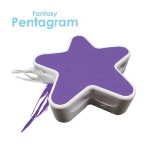 ファンタジー ペンタグラム パープル / 猫用玩具 電池式 nekobatake