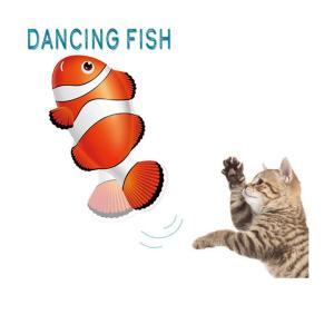 ダンシング フィッシュ クマノミ / 猫用玩具 貝沼産業 nekobatake
