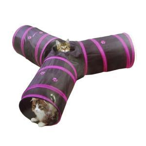 ペット遊宅 みつまたプレイトンネル 猫用おもちゃ 猫じゃらし ドギーマンハヤシ