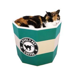 猫カップ カフェ 猫用おもちゃ 猫じゃらし 遊具 段ボール|nekobatake