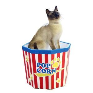 猫カップ ポップコーン 猫用おもちゃ 猫じゃらし 遊具 段ボール|nekobatake