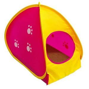 ツメとぎルーム 猫用品 ツメとぎ 本体 横型 キャットニップ付 マルカン|nekobatake