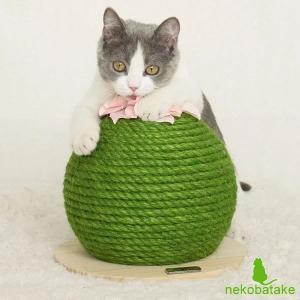Lamoda 猫用爪とぎ サボテン風 / ラモダ 天然麻|nekobatake