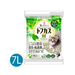 トフカス Ree(リー) 7L 猫砂 おから リンゴの香り 固まる 流せる|nekobatake