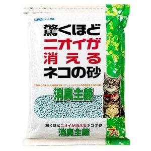 消臭主義 7L シリカゲル 紙 固まる 脱臭 消臭 流せる|nekobatake