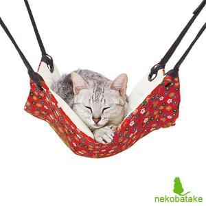 猫小町 にゃんモック 小花柄 / 猫用品 ハンモック ペティオ Petio|nekobatake
