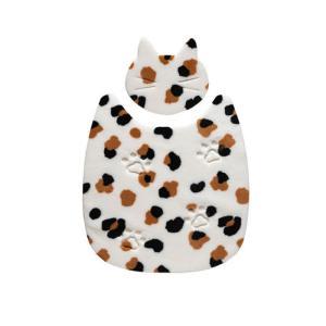 SANKO おくだけ吸着 ねっころマット ミケ / 猫用マット サンコー|nekobatake