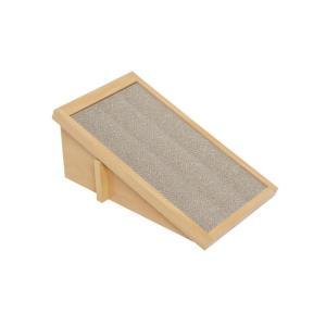 Anikitty キャットスクラッチスロープ スモールウェーブ / 猫用品 ハウス 紙パネル 爪とぎ アニキティ|nekobatake