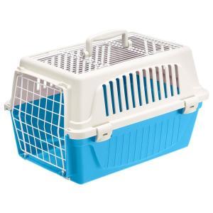 ferplast ハードキャリー アトラス 20EL オープン ブルー 猫用品 猫用キャリー ファンタジーワールド nekobatake