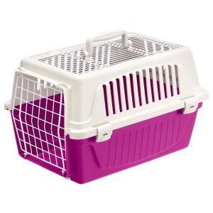 ferplast ハードキャリー アトラス 20 オープン ピンク 猫用品 猫用キャリー ファンタジーワールド nekobatake