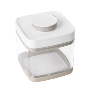真空保存容器 ANKOMN SAVIOR(セビア)ベージュ 1.5L 猫用品 フードストッカー アンコムン 最新バージョン|nekobatake