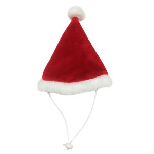 PetPro ペット用サンタクロース帽子 ペットプロ クリスマス アパレル|nekobatake