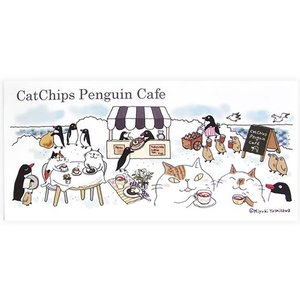 Cat Chips ペンギンカフェ 一筆箋 のあぷらす 正規品 猫雑貨 ステーショナリー|nekobatake