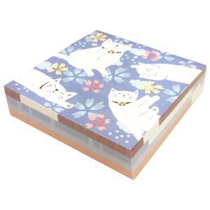 なごみ ブロックメモ ゆるねこ のあぷらす 正規品 猫雑貨 ステーショナリー|nekobatake